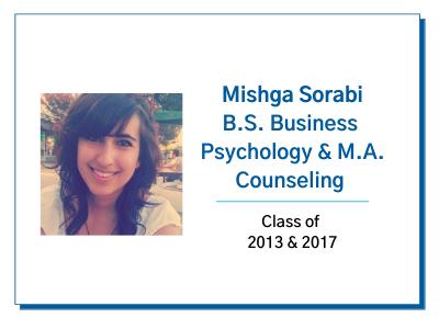 Palo Alto University Alumni Spotlight Mishga Sorabi Image