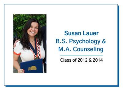 Palo Alto University Alumni Spotlight Susan Lauer