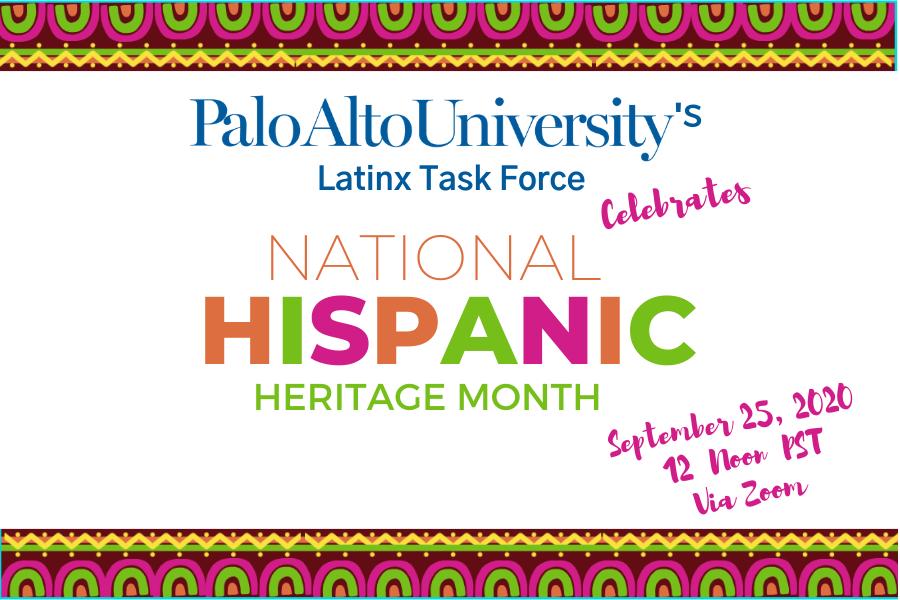 National Hispanic Heritage Month Flyer
