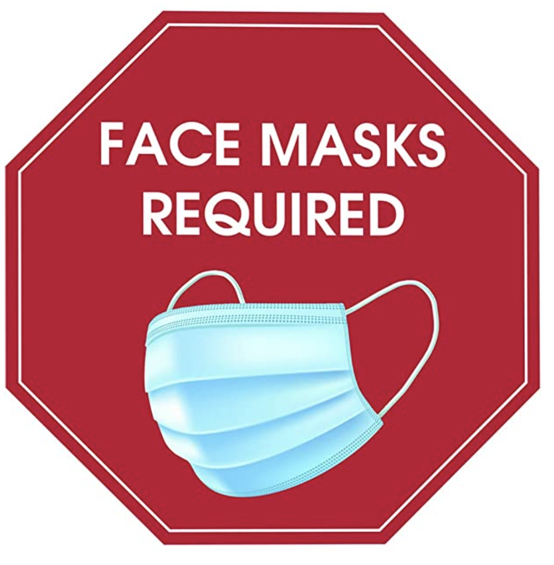Facemask Required Graphic