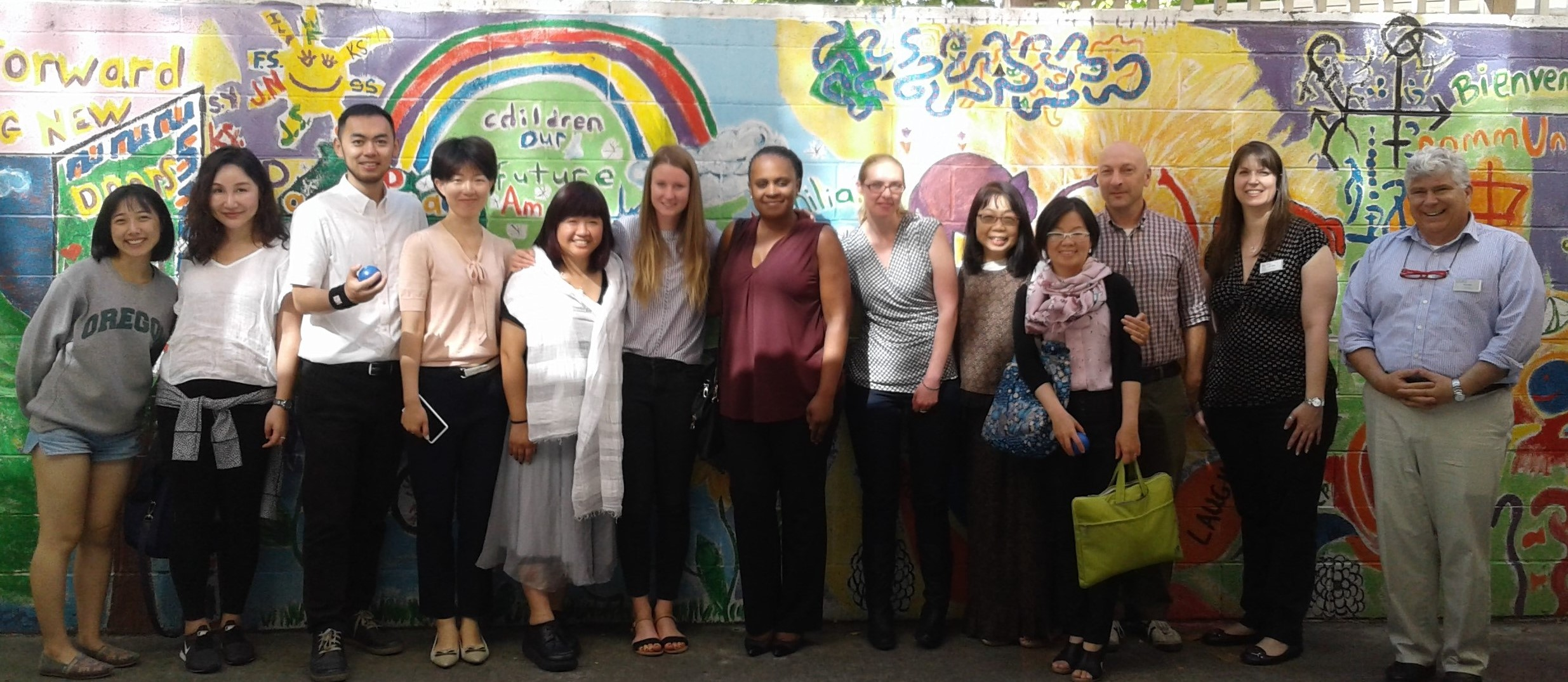 International Students Visit Campus for Clinical Interviewing Course