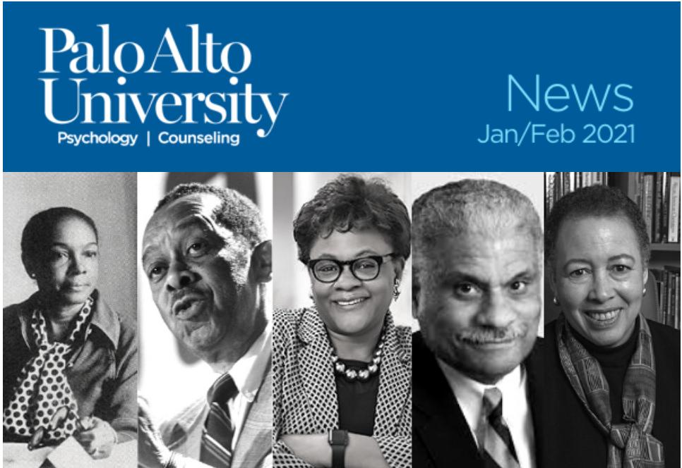 Palo Alto University January February 2021 Newsletter