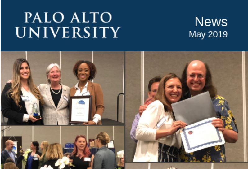 Palo Alto University May 2019 Newsletter