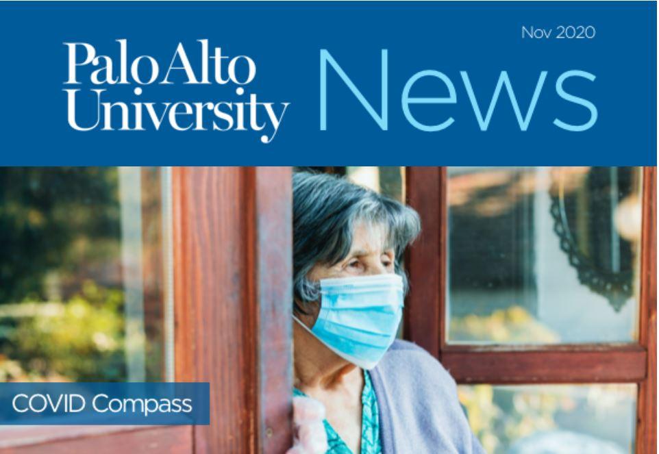 Palo Alto University Newsletter November 2020 Image