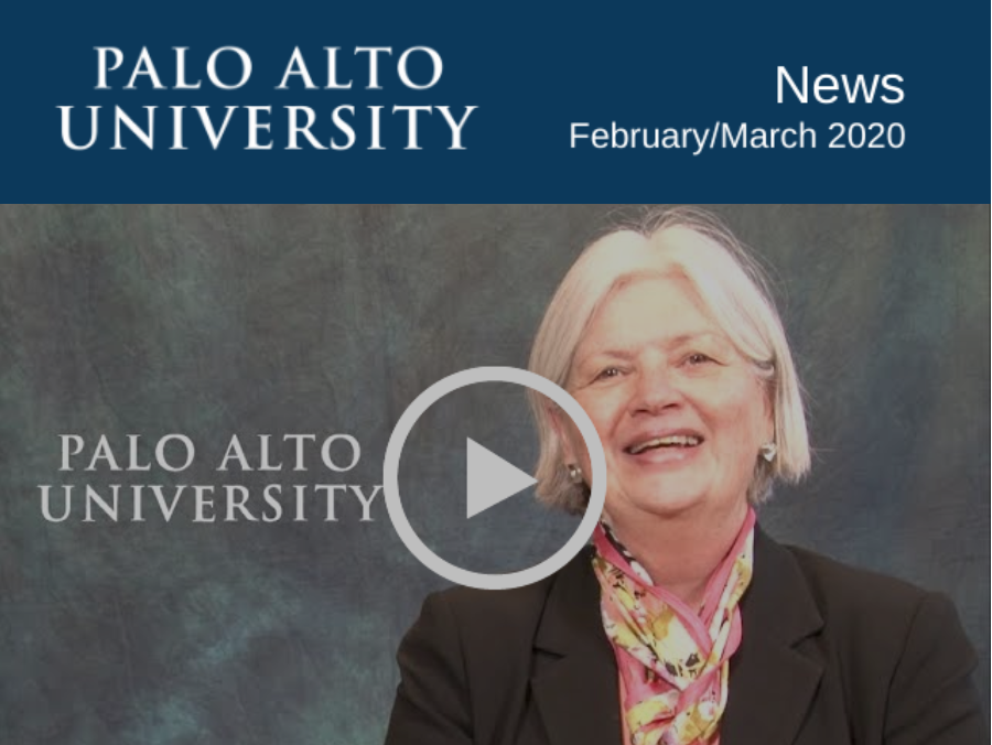 Palo Alto University February 2020 Newsletter