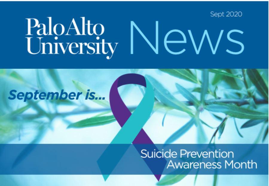 Palo Alto University September 2020 Newsletter