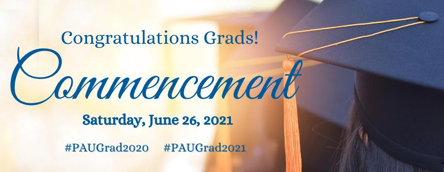 Palo Alto University Commencement 2021 Web Header ImagePalo Alto University Commencement 2021 Web Header