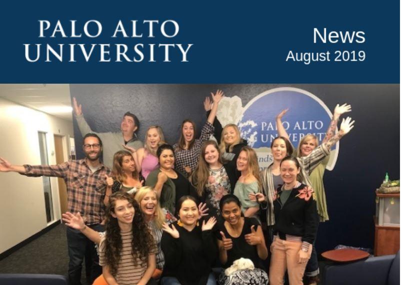 Palo Alto University August 2019 Newsletter