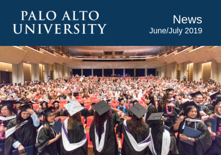 Palo Alto University News June July 2019