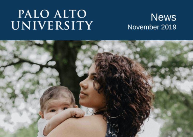 Palo Alto University November 2019  Newsletter
