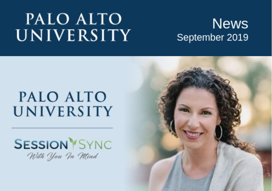 Palo Alto University September 2019 Newsletter