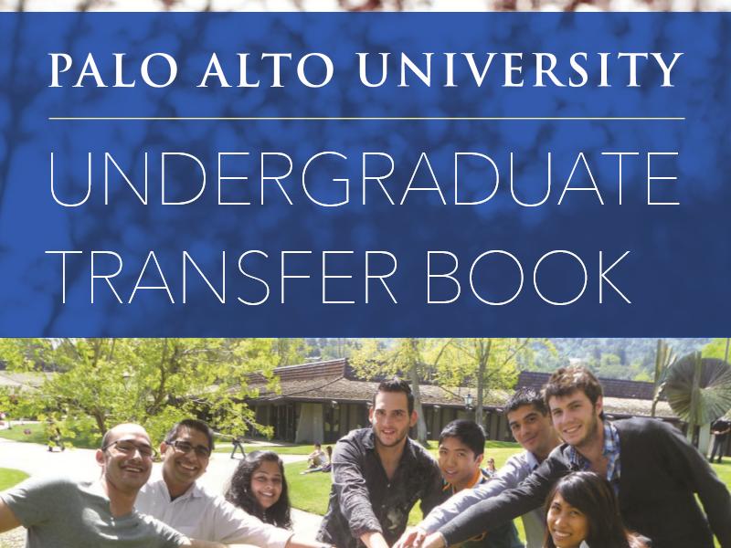 Palo Alto University undergraduate programs viewbook cover
