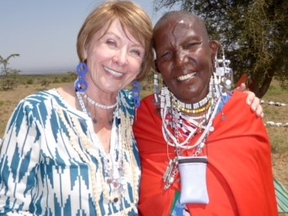 Diane Raleign - Alumna's 'Just Do It' Approach Changes Lives in Africa