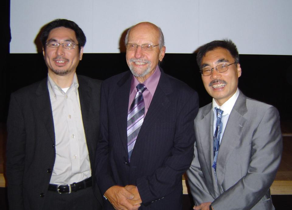 Larry Beutler visit to Japan