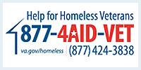 Help for Homeless Veterans graphic