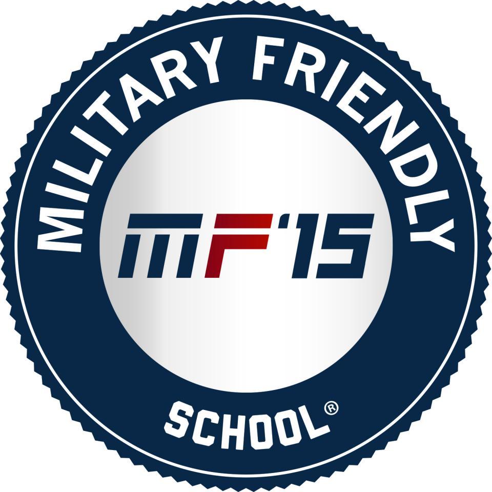 A MF '15 icon representing Palo Alto University in Palo Alto, CA as a Military Friendly School