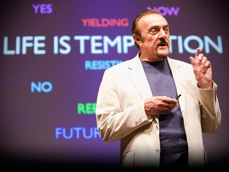Phillip Zimbardo at Speaking Event