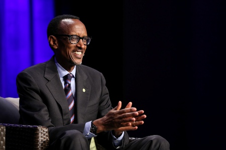 Rwanda President Paul Kagame Speaks at Wisdom 2.0 Conference in San Francisco, Feb. 2014