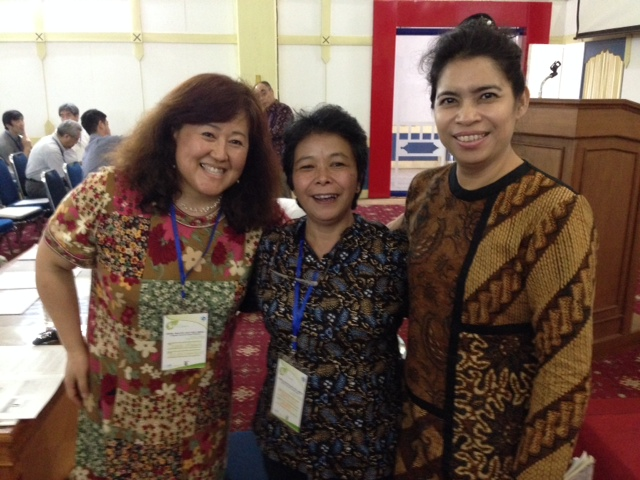 Satoko Kimpara Visit to Indonesia