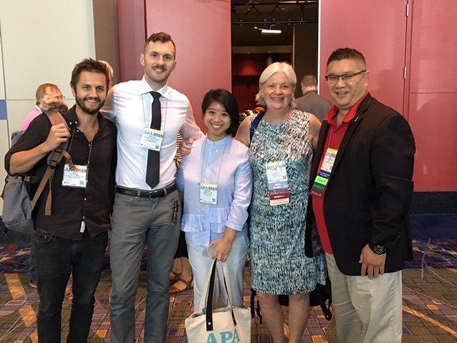 PAU Faculty, Students and Alumni Share, Connect and Learn at 2019 APA Conference