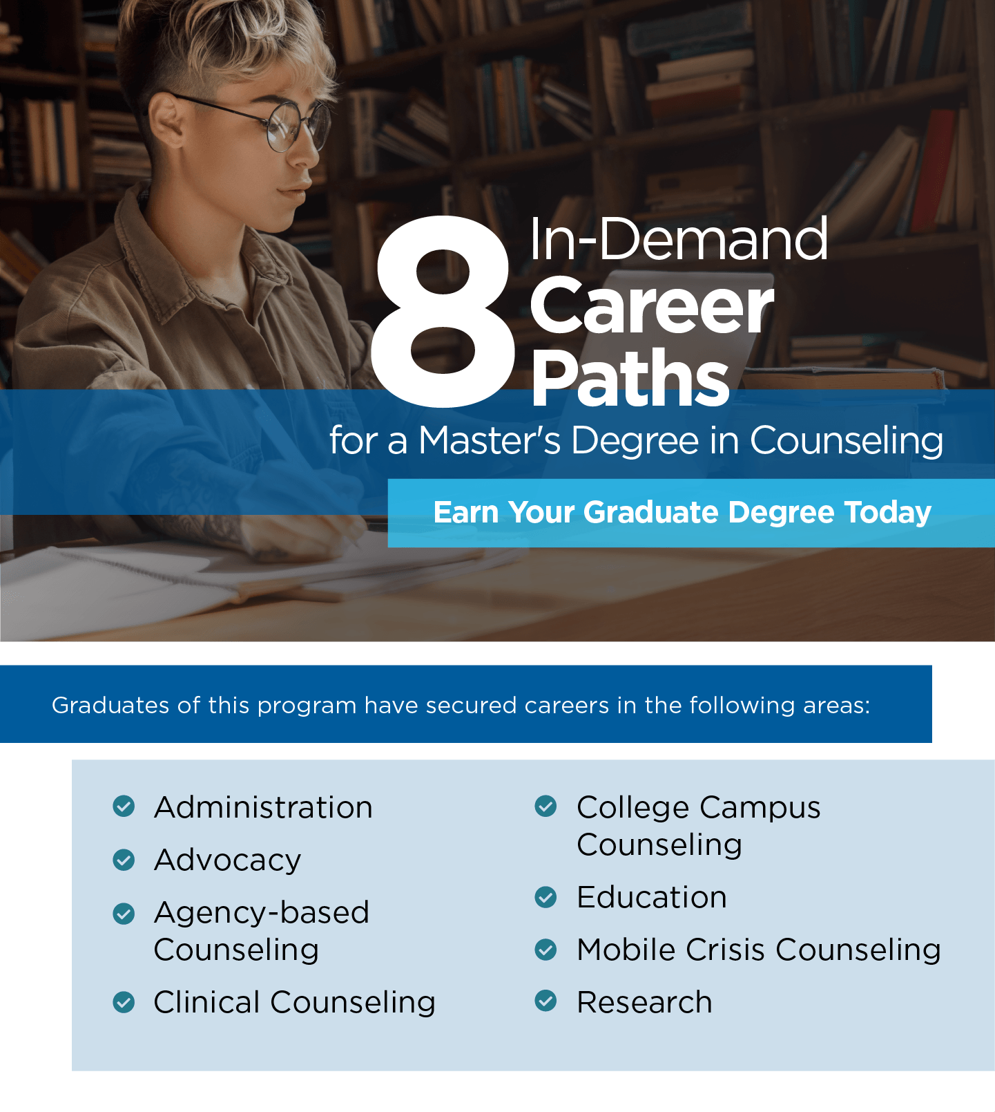 8 In-Demand Career Paths Infographics