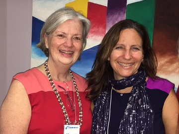 Maureen O'Connor and Dr. Kimberly Balsam