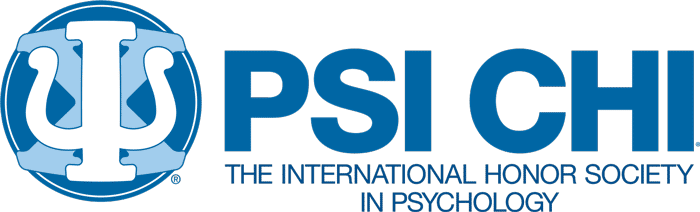 logo and text: Psi Chi The International Honor Society in Psychology