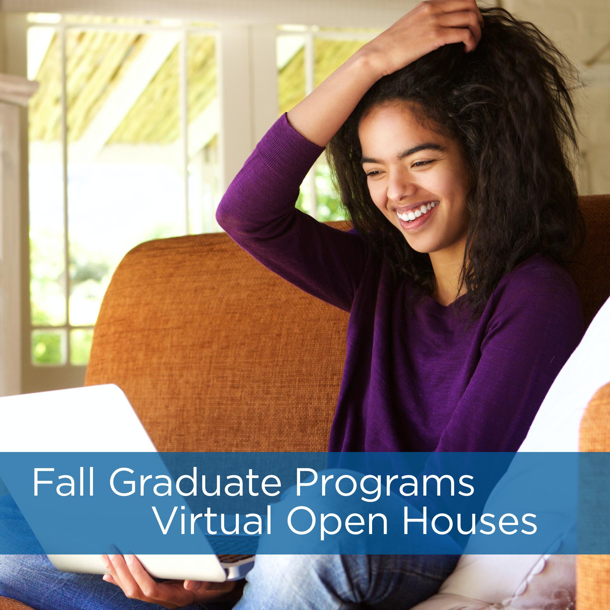Graduate Programs Virtual Open House