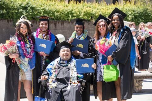 Palo Alto University Graduates at Commencement