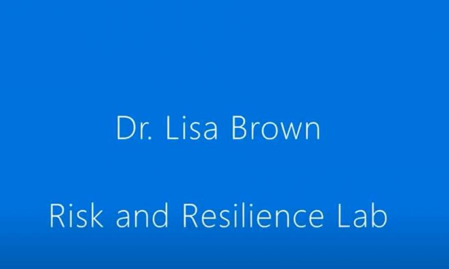 Risk and Resilience Lab Webinar graphic