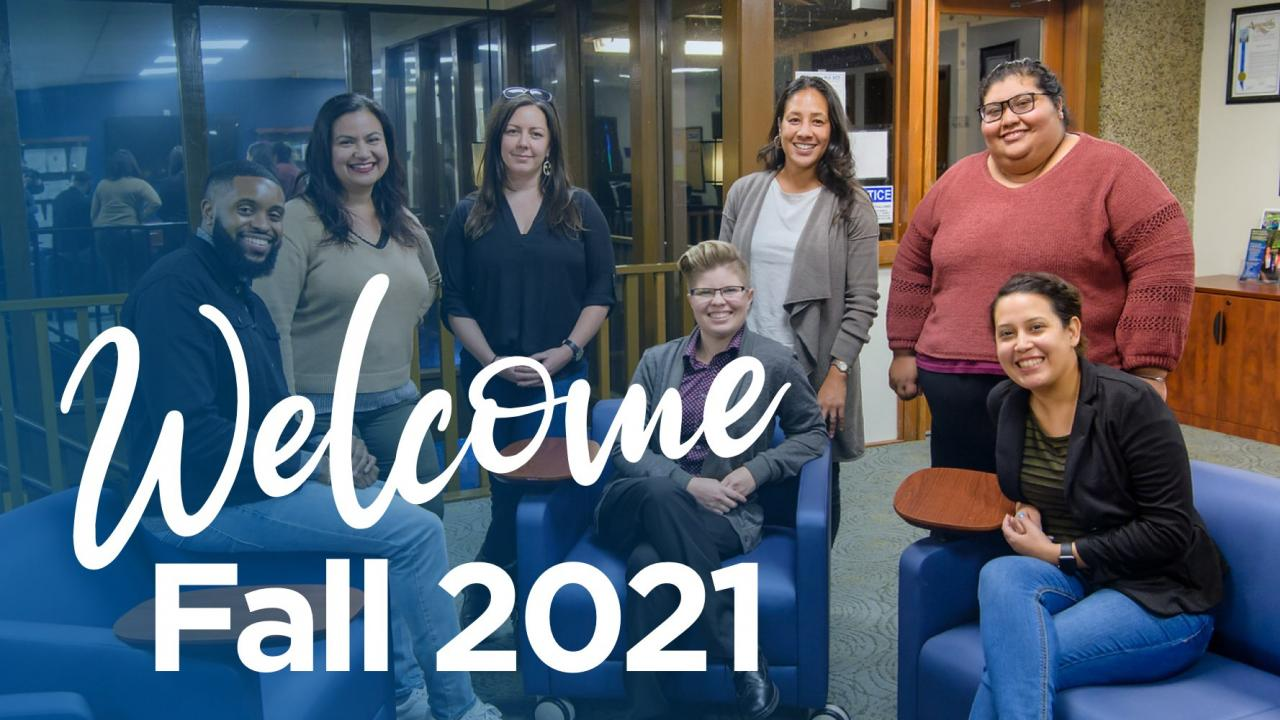 Student Fall 2021 Welcome Back
