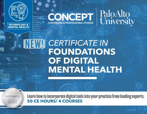 CONCEPT Foundations in Digital Mental Health
