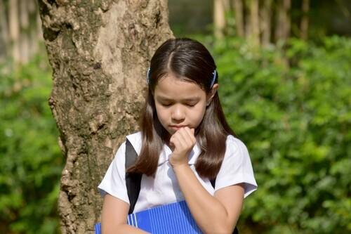 stressed-anxious child