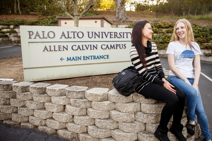 Palo Alto University Graphic