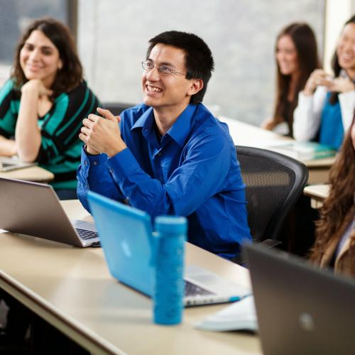 Classroom Image of Students