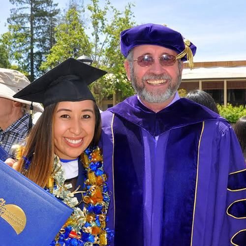 MA Counseling Commencement Photo with Will Snow