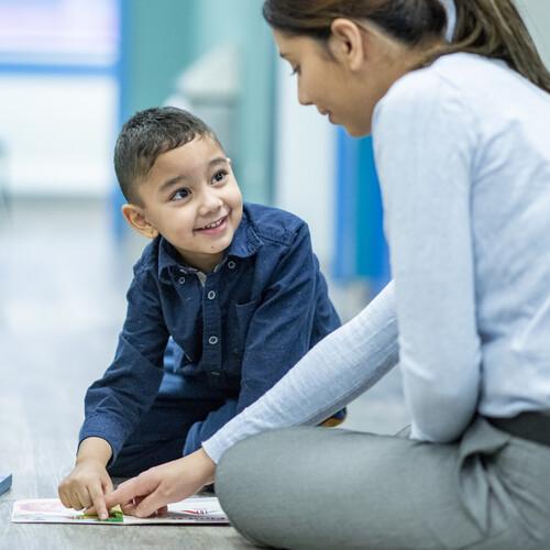 Pediatric Behavioral Emphasis stock photo