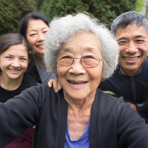 Happy Family Photo