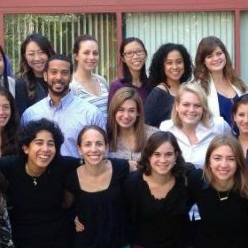 Group of students from Palo Alto University in Palo Alto, CA posing for a group photo