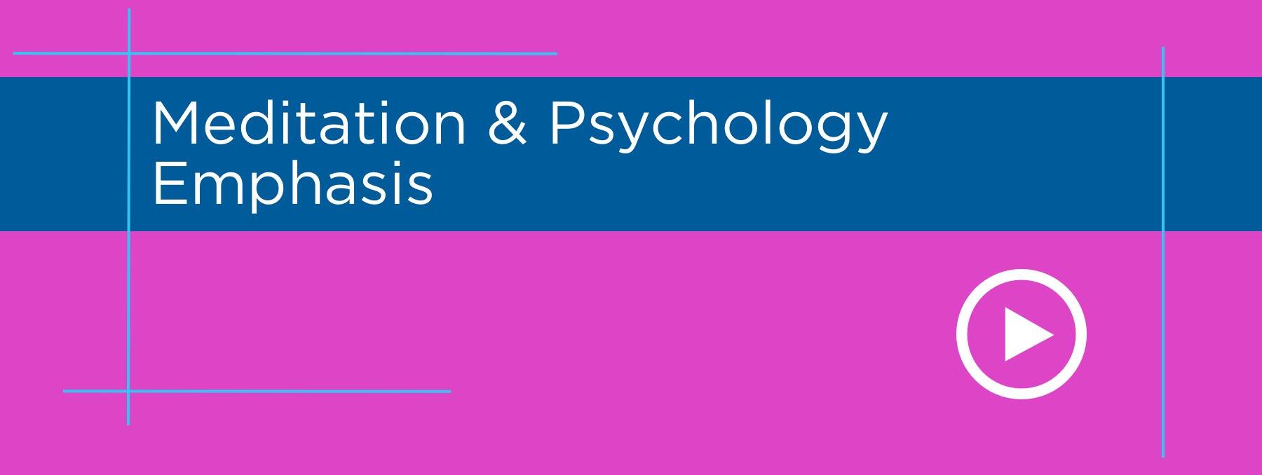 Meditation & Psychology Graphic